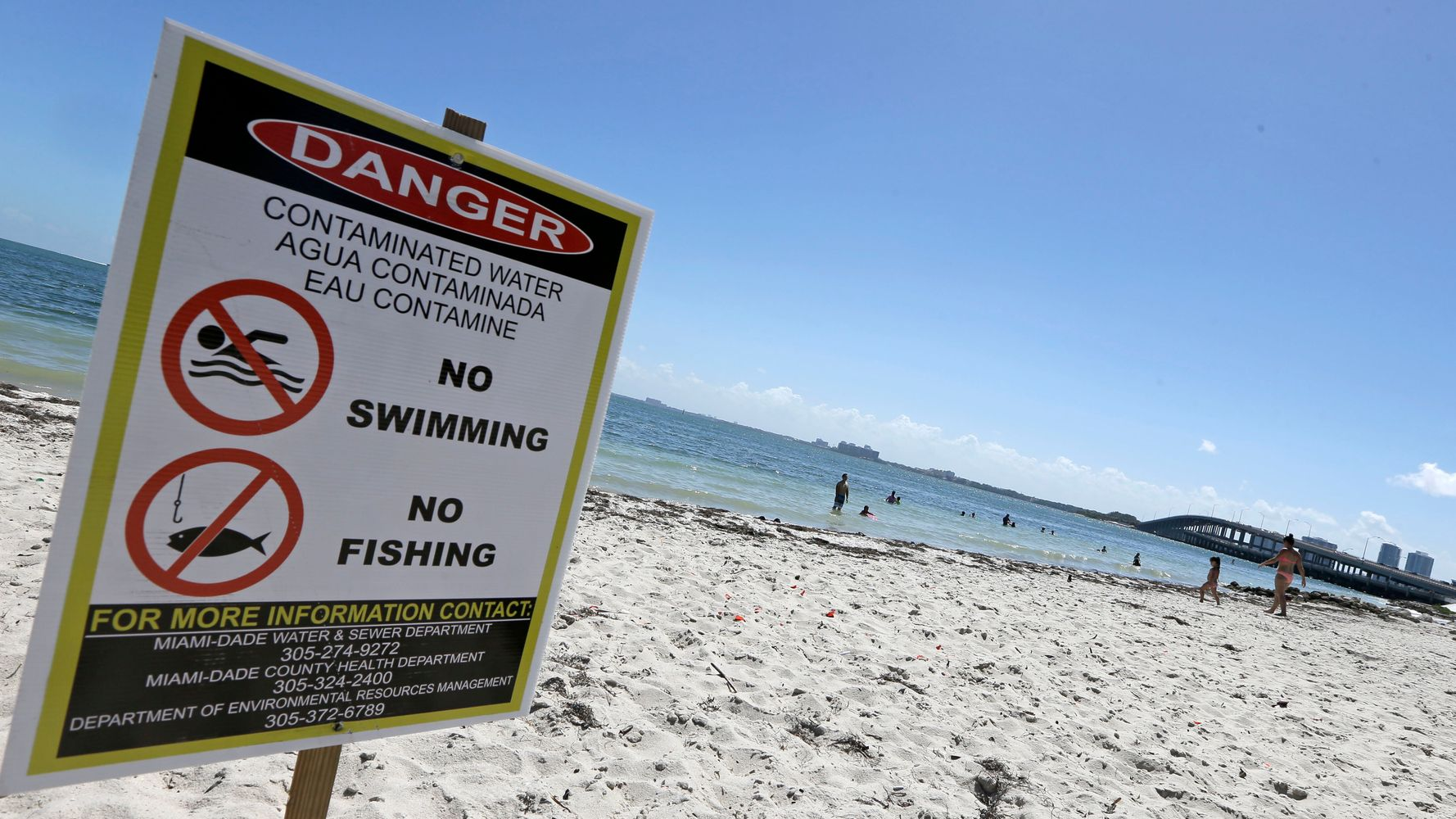 Sun, Sand And Sewage: Report Shows Many U S  Beaches Unsafe
