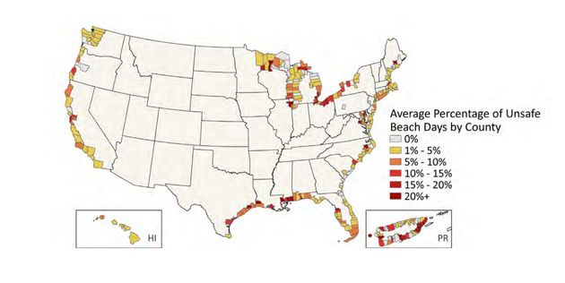 Sun, Sand And Sewage: Report Shows Many U.S. Beaches Unsafe For