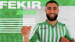 C'est officiel, Nabil Fekir a quitté Lyon pour le Betis