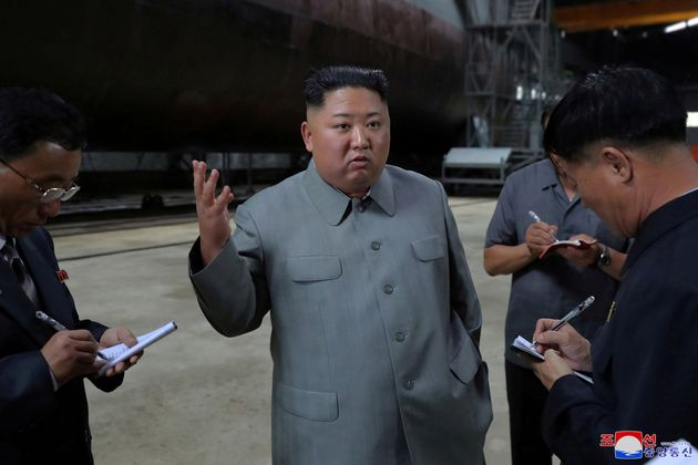 Kim Jong Un Inspects Submarine That Experts Fear Could Carry Far-Reaching