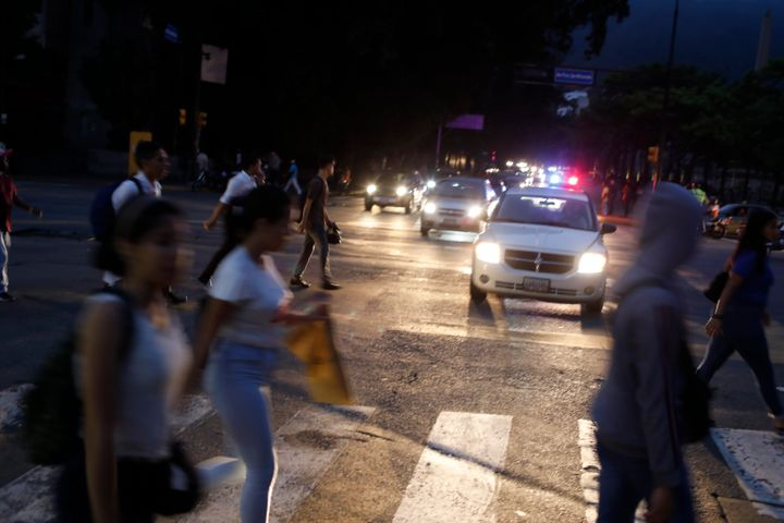 The lights went out across much of Venezuela Monday, reviving fears of the blackouts that plunged the country into chaos a fe