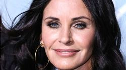 Courteney Cox Is There For You In Cool Swimming Pool Trick