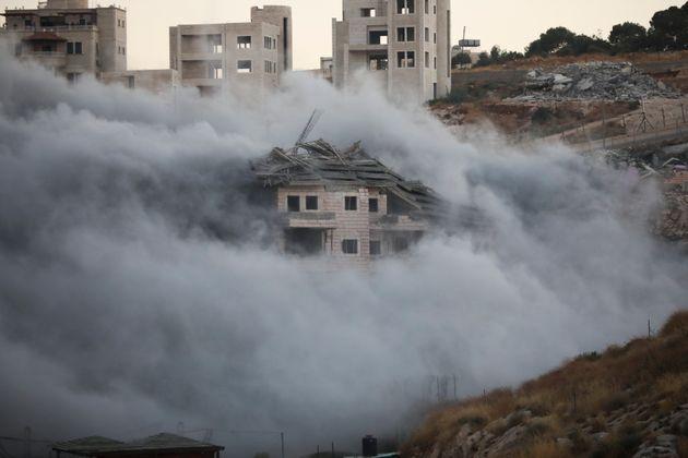 Διεθνής κατακραυγή για την καταστροφή σπιτιών Παλαιστινίων από το