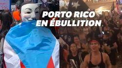 À New York, les Portoricains ont envahi Grand Central pour réclamer la démission de leur