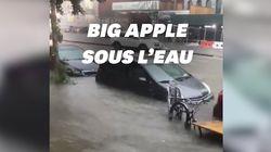 New York en proie à des inondations après de forts