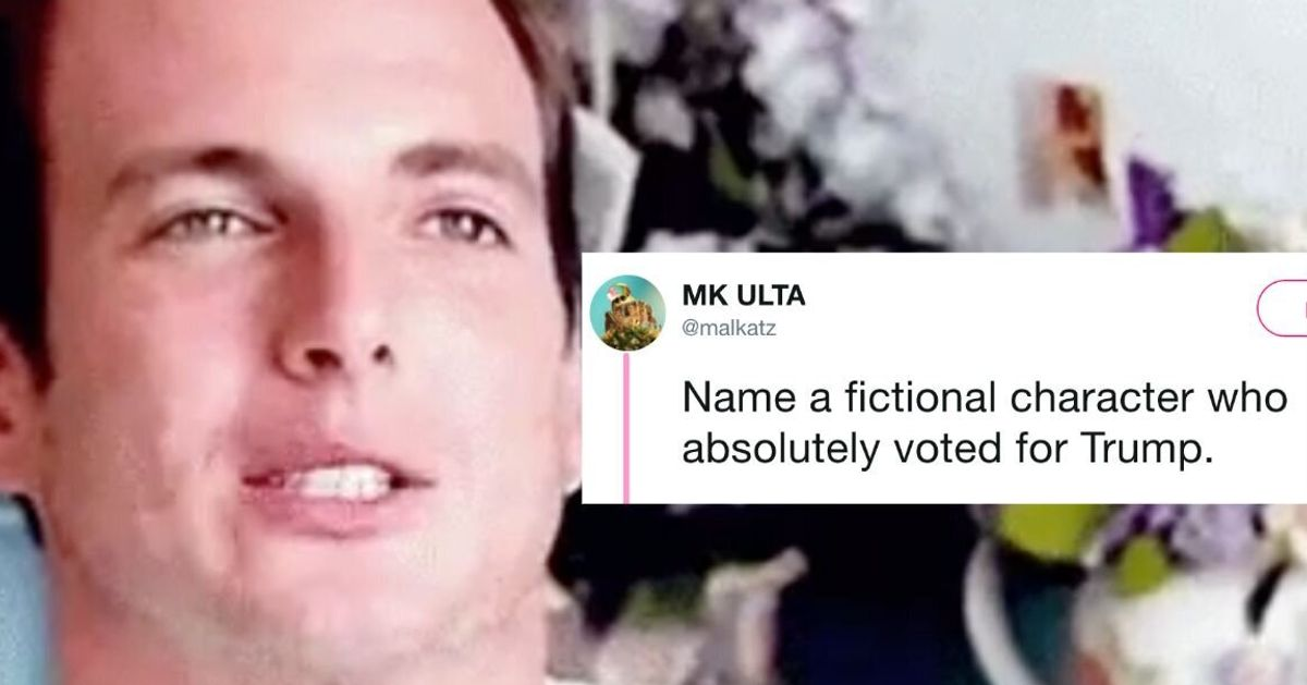 People Are Discussing Which Fictional Characters Would Have Voted For Trump