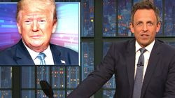 Seth Meyers Nails How Trump 'Wears Us Down' With A Zombie