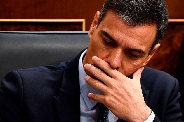 Sánchez fracasa en su primer intento de