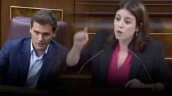 Los dardos de Lastra a Rivera en el debate de