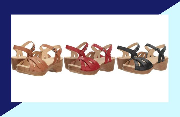 """Most reviewers comment on the fact that <a href=""""https://fave.co/32OzTBF"""" target=""""_blank"""" rel=""""noopener noreferrer"""">these shoes</a> are a good solution for women with concerns like bunions,&nbsp;hallux rigidus and plantar fasciitis."""
