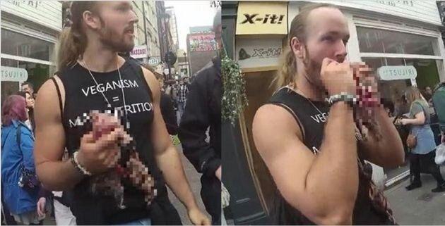 Λονδίνο: Πρόστιμο σε αντι-vegan διαδηλωτές, επειδή έφαγαν ωμούς
