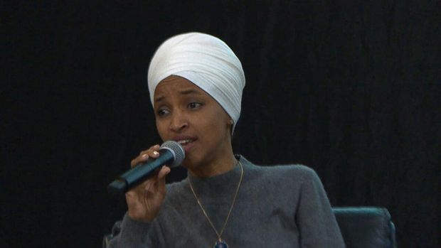 The Minnesota congresswoman responded to a question asking Rep. Omar and Michigan congresswoman Rashida Tlaib to condemn female genital mutilation.