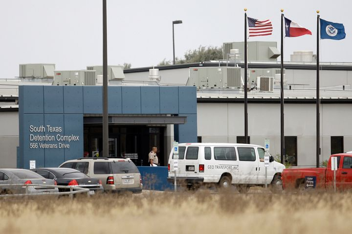 Online records indicate Francisco Erwin Galicia, who was born in Dallas, Texas, was taken to the South Texas Detention Center