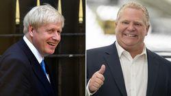 'I Like That Boris Johnson': Doug Ford Raves About Britain's Next