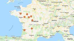 De Bordeaux à Châteauroux, la canicule fait tomber des records de