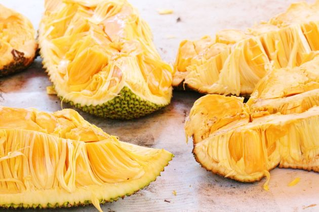 Jackfruit may not look particularly appetizing raw, but when cooked it mimics the texture of shredded