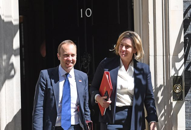 Amber Rudd And Matt Hancock Stay In Boris Johnsons Cabinet – Despite All The Shade Theyve Thrown At Him In The Past