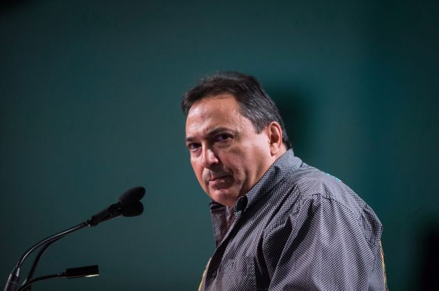 Assembly of First Nations National Chief Perry Bellegarde speaks during the AFN annual general assembly...