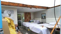 Une tornade arrache le toit d'un hôtel sur la péninsule de Cape