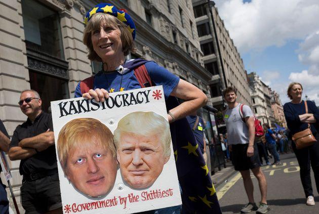 '영국의 트럼프라고 하더라' : 트럼프가 보리스 존슨을