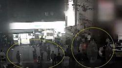 """""""폭행 방관했다는 영상은 오해"""" 경찰 해명에 CCTV 원본"""
