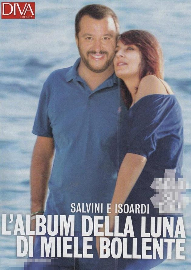 Tempo di vacanze anche per la coppia Salvini-Verdini (A Milano