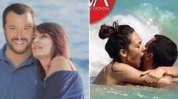 Cambia fidanzata ma la foto delle vacanze resta. Salvini-Verdini e la prima uscita (al