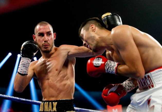 Los boxeadores Maxim Dadashev (izq) y Antonio de Marco, en una imagen de octubre de