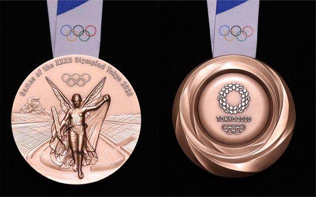 2020도쿄올림픽 메달 디자인이