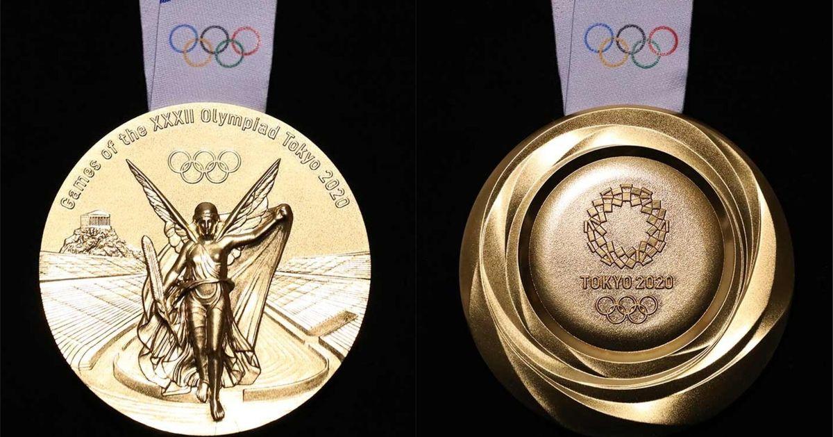Presentan los diseños de las medallas de Tokio 2020