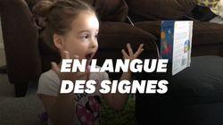 À trois ans, cette petite fille sourde traduit un livre en langue des