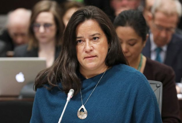 Former attorney general Jody Wilson-Raybould testifies in front of the House of Commons justice committee...