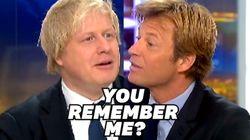 Quand Boris Johnson assurait (en français) à Delahousse qu'il ne serait