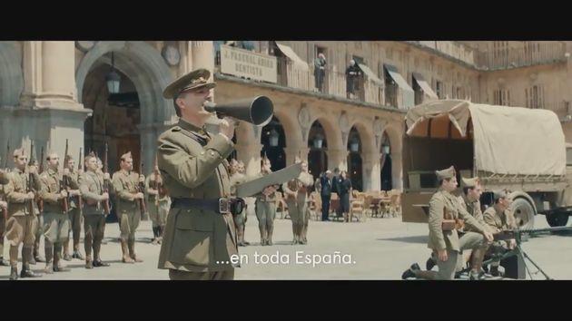 Movistar + corrige el error del tráiler de la película de Amenábar sobre la Guerra