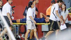 Asensio sufre una rotura del ligamento cruzado anterior y del menisco