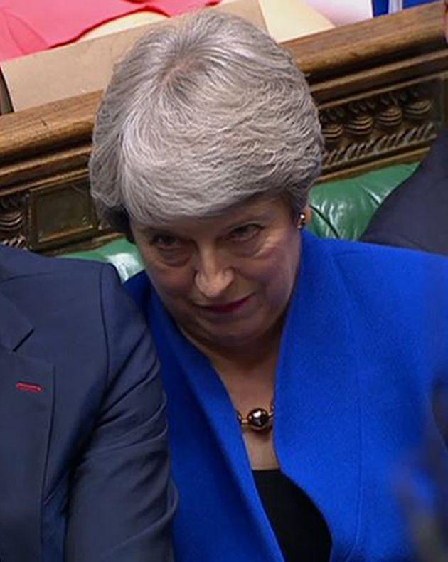 Η Μέι την τελευταία ημέρα της στη Βουλή ως πρωθυπουργός την πέρασε κάπως