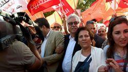 Les têtes de liste de la coalition du Front populaire pour les