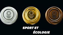 Les médailles en métaux recyclés des Jeux Olympiques de Tokyo 2020