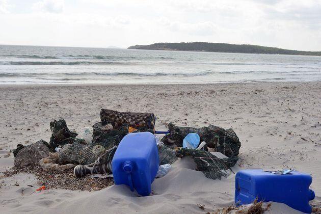 Le plastique représente plus de 60% des déchets