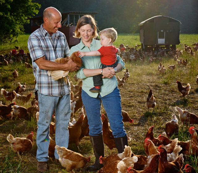 Jennifer Hashley and her husband Pete have created a business that allows small farmers to slaughter poultry on their own property, eliminating the need to visit separate processing facilities.