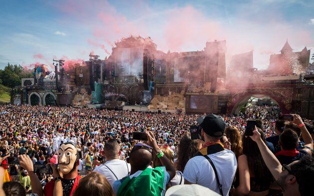 Près de 400.000 personnes sont attendues au festival de musique électronique Tomorrowland...