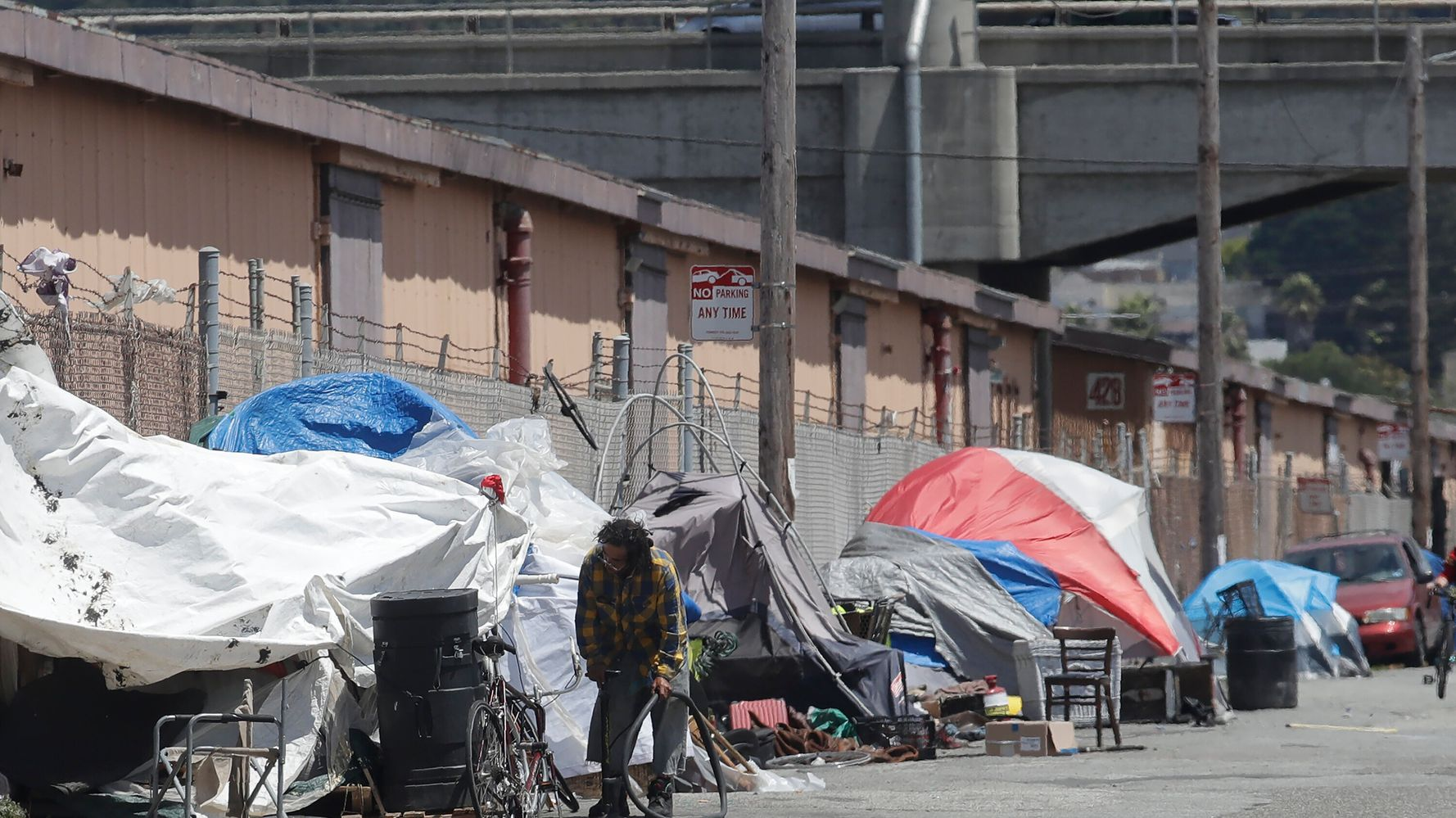 America's Homeless Crisis Is Inspiring New Acts Of Cruelty