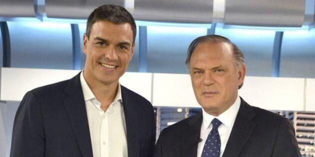 Telecinco anuncia por sorpresa una entrevista con Pedro Sánchez y borra el tuit al
