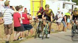Deux coureurs du Tour de France exclus après une altercation