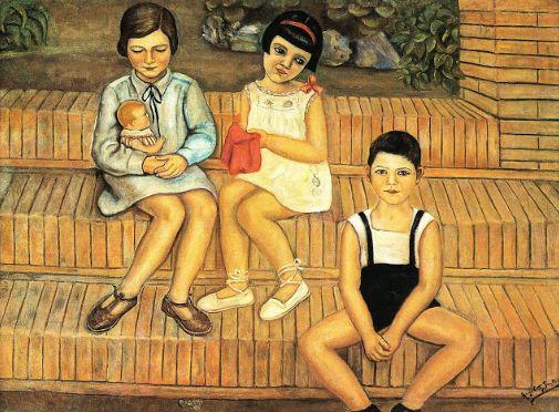 'Niños en el jardín', deÁngeles Santos
