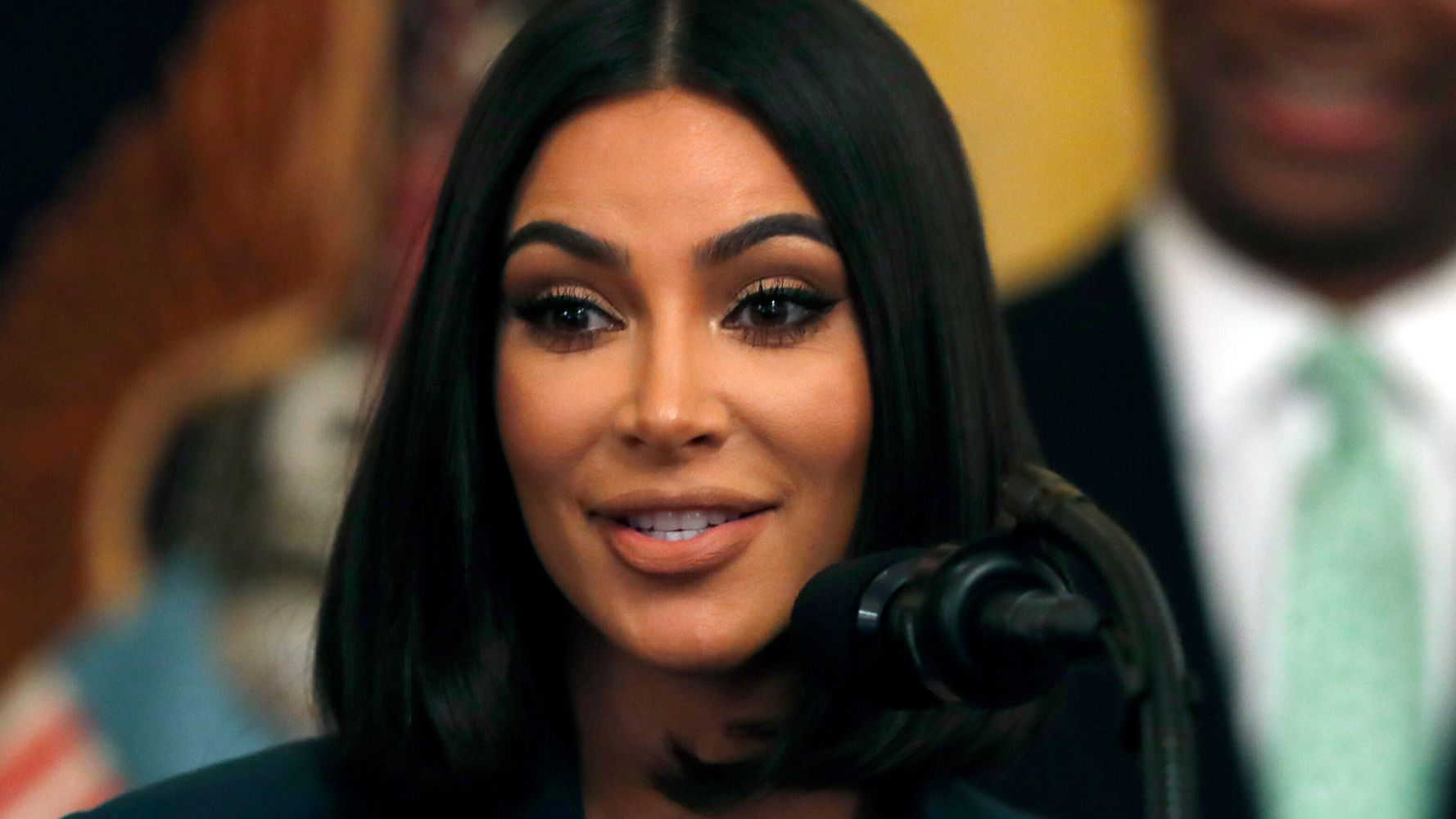 Kim Kardashian Visits D C  Jail To Discuss Criminal Justice