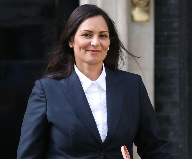 A nova ministra do interior do Reino Unido, Priti