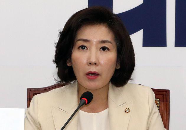 나경원이 한국당을 향한 '친일' 비난에
