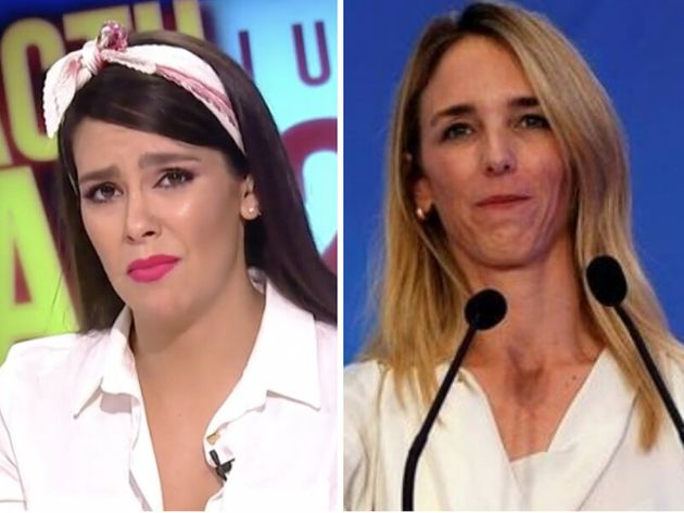 Cristina Pedroche ('Zapeando') responde irónicamente a las palabras de la 'popular' Cayetana Álvarez...