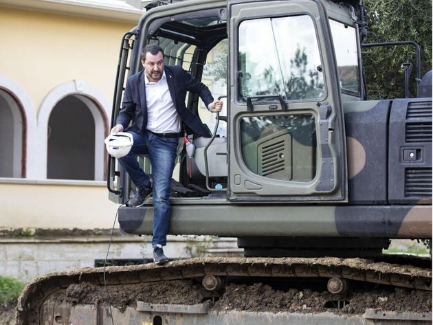 Matteo Salvini gongola: